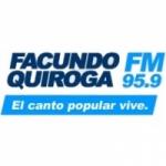 Logo da emissora Radio Facundo Quiroga 95.9 FM