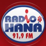 Logo da emissora Hana 100 FM