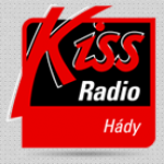 Logo da emissora Kiss 88.3 FM