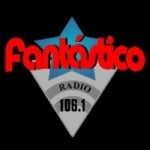 Logo da emissora Radio Fantastico 106.1 FM