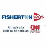 Logo da emissora Radio Fisherton CNN 89.5 FM