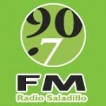 Logo da emissora Radio Saladillo 90.7 FM