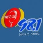 Logo da emissora Radio FM 98.1
