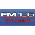 Logo da emissora Radio FM 105 91.5 FM