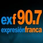 Logo da emissora Radio Franca 90.7 FM