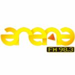 Logo da emissora Radio Frecuencia Arena 98.3 FM