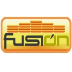 Logo da emissora Radio Fusión 105.5 FM