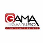 Logo da emissora Radio Gama 1490 AM