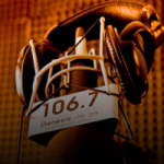 Logo da emissora Radio Génesis 106.7 FM