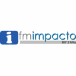 Logo da emissora Radio Impacto 107.3 FM