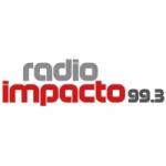 Logo da emissora Radio Impacto 99.3 FM