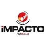 Logo da emissora Radio Impacto 93.3 FM