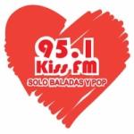 Logo da emissora Radio Kiss 95.1 FM