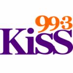 Logo da emissora Radio Kiss 99.3 FM