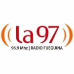 Logo da emissora Radio La 97 96.9 FM