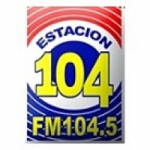 Logo da emissora Radio Estaci�n 104.5 FM