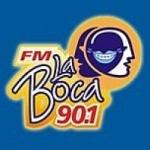 Logo da emissora Radio La Boca 90.1 FM