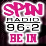 Logo da emissora Spin 96.2 FM