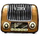 Logo da emissora Goteborgs Narradio Forenings 102.6 FM