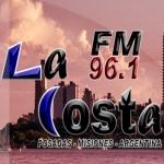 Logo da emissora Radio La Costa 96.1 FM