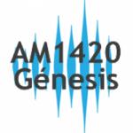 Logo da emissora Radio G�nesis 1420 AM