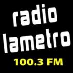 Logo da emissora Radio La Metro 100.3 FM