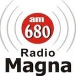 Logo da emissora Radio Magna 680 AM