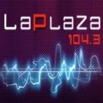 Logo da emissora Radio La Plaza 104.3 FM