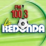 Logo da emissora Radio La Redonda 100.3 FM