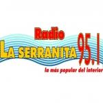 Logo da emissora Radio La Serranita 95.1 FM