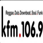 Logo da emissora KFM 106.9 FM