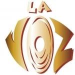 Logo da emissora Radio La Voz 100.5 FM