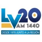 Logo da emissora Radio Laboulaye 1440 AM