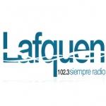 Logo da emissora Radio Lafquen 102.3 FM
