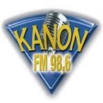 Logo da emissora Kanon 98.6 FM