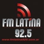 Logo da emissora Radio Latina 92.5 FM