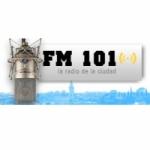 Logo da emissora Radio Ciudad 101.1 FM