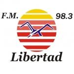 Logo da emissora Radio Libertad 98.3 FM
