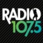 Logo da emissora Radio 107.5 FM
