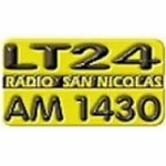 Logo da emissora Radio San Nicolas 1430 AM