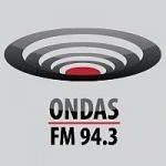 Logo da emissora Radio Ondas 94.3 FM