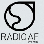Logo da emissora Radio AF 99.1 FM