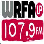 Logo da emissora WRFA 107.9 FM