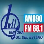 Logo da emissora Radio LV 11 890 AM