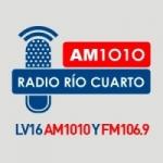 Logo da emissora Radio Río Cuarto 1010 AM 106.9 FM