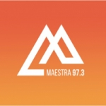 Logo da emissora Radio Maestra 97.3 FM