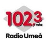 Logo da emissora Umea 102.3 FM