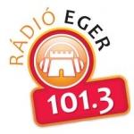 Logo da emissora Eger 101.3 FM