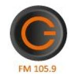 Logo da emissora Gazdasagi Radis 105.9 FM