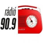 Logo da emissora Jazzy 90.9 FM